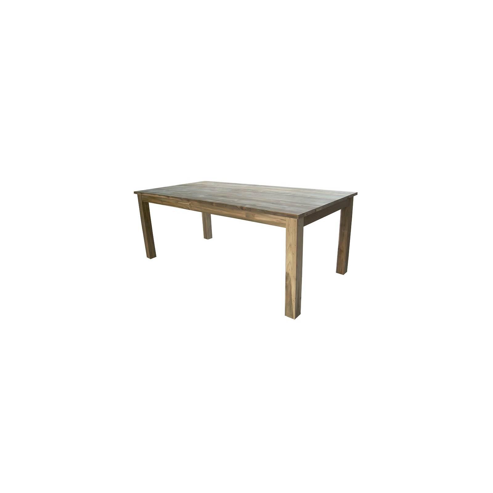 Table De Séjour Greenface Teck Recyclé - meuble exotique