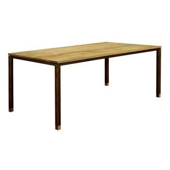 Table De Séjour Luna Teck - meuble teck massif