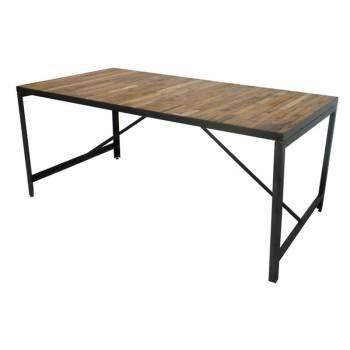 Table De Séjour Mona Teck Recyclé - meuble teck massif
