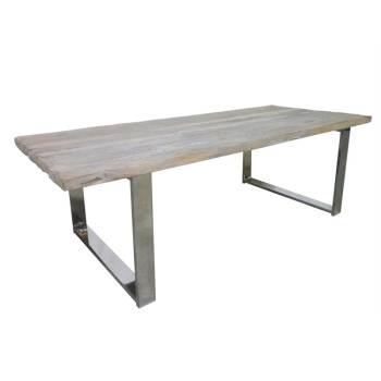 Table De Séjour Odessa Teck - meuble ethnique design