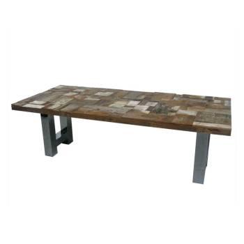 Table De Séjour Odille Teck - meuble exotique