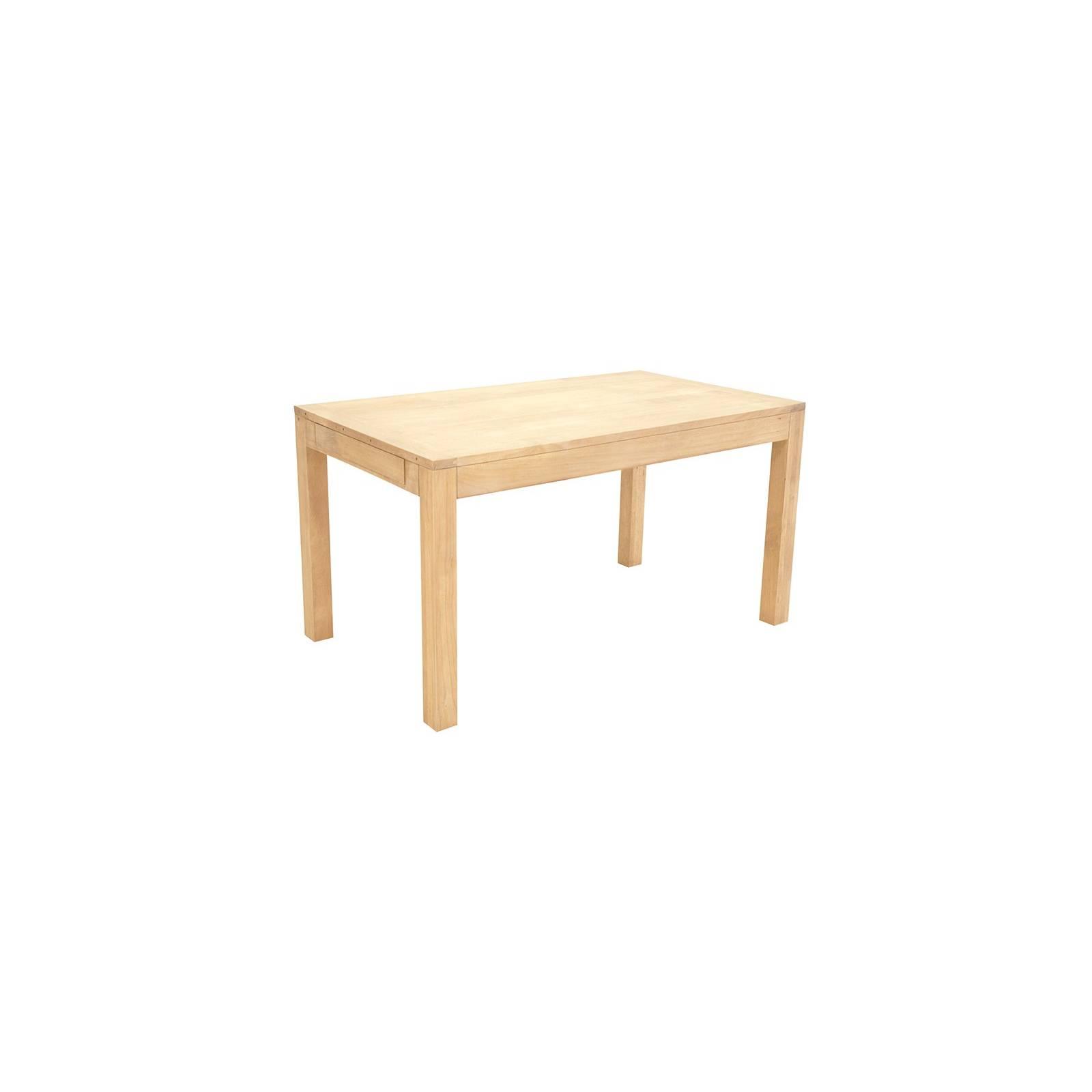 Table De Séjour Rallonges Fjord Hévéa - meuble déco
