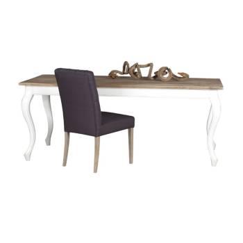 Table De Séjour Rectangulaire Baroque Olimpia Teck