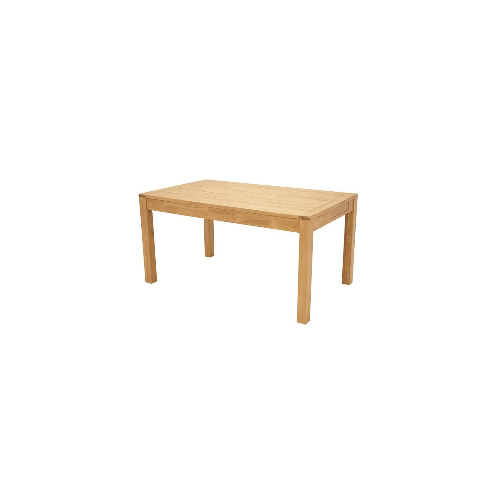 Table De Séjour Rectangulaire Fjord Hévéa - meuble déco