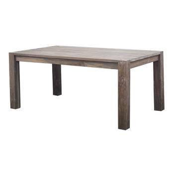 Table De Séjour Rectangulaire Greenface Teck Recyclé