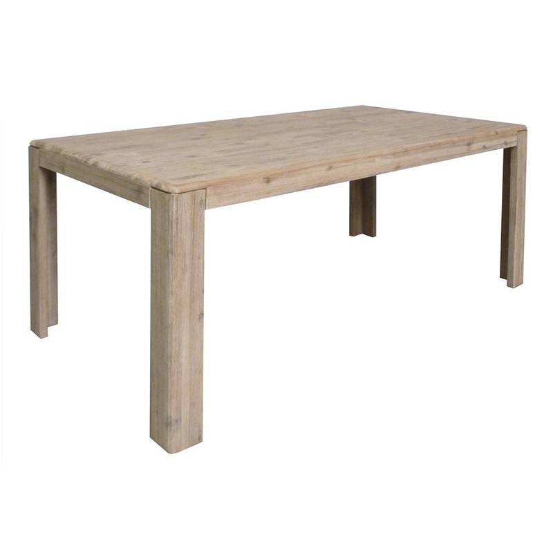 Table de séjour rectangulaire Joëlle Acacia | mobilier design