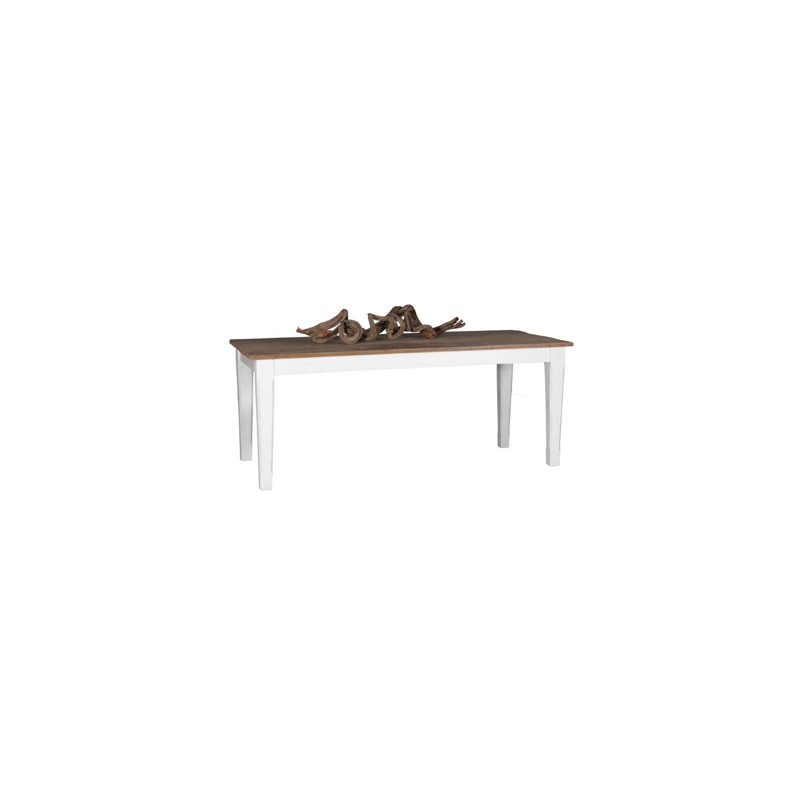 Table De Séjour Rectangulaire Olimpia Teck - meuble teck massif