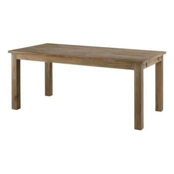 Table De Séjour Rectangulaire Rallonges Maestro Teck - meubles bois massif
