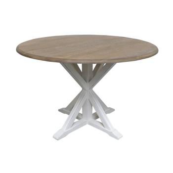 Table De Séjour Ronde Pin Camille - achat meuble au style classique