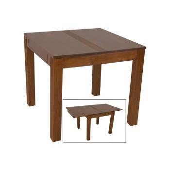 Table de Séjour Rallongue Siguiri Hévéa - meuble bois massif