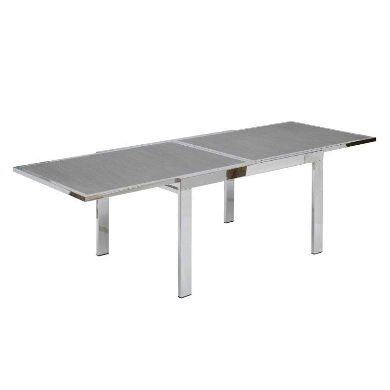 Table de salle en c ramique mobilier design de luxe for Table sejour