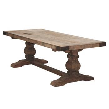 Table De Séjour Victor Pin - meuble style rétro