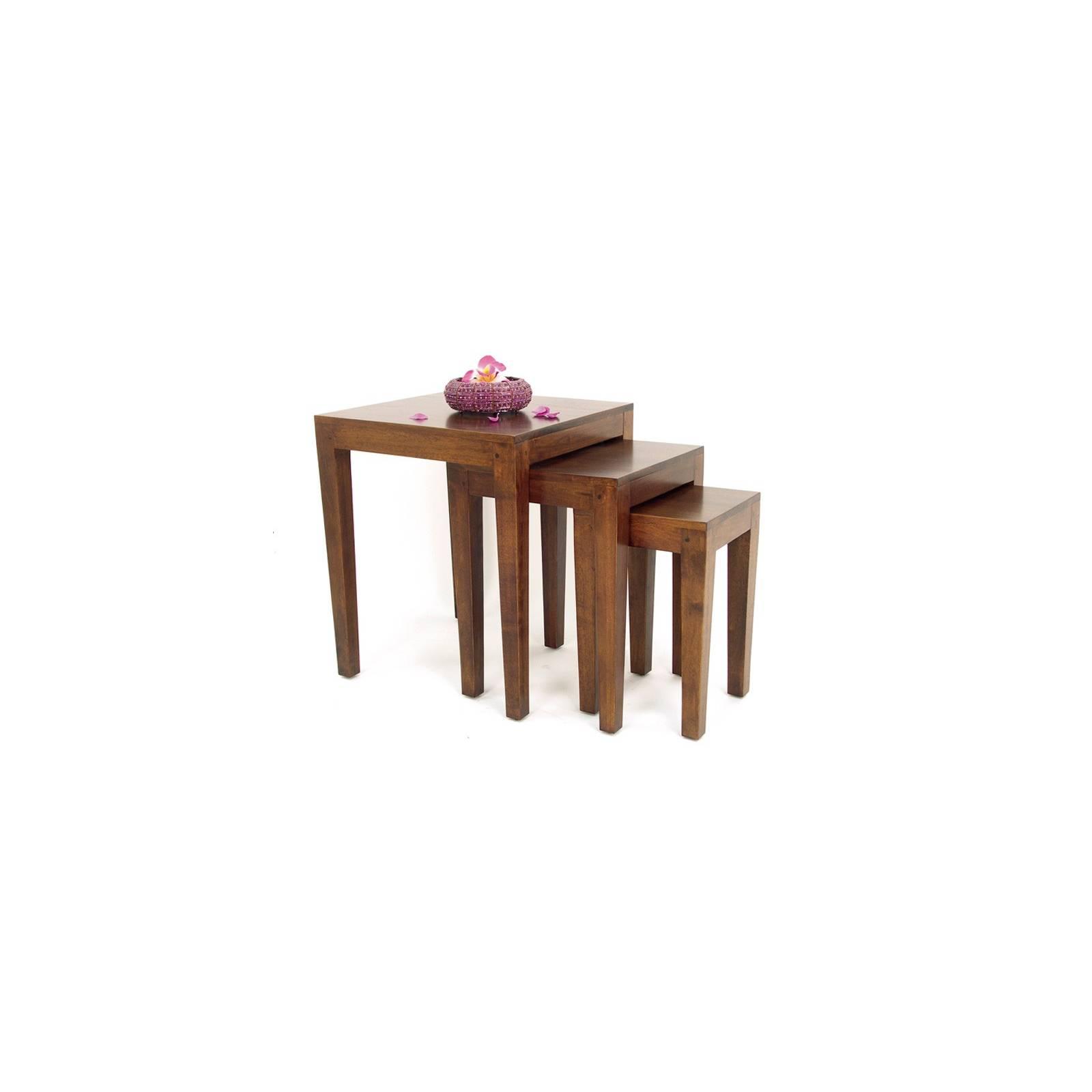 Sellettes Gigognes Omega Hévéa - meuble style design