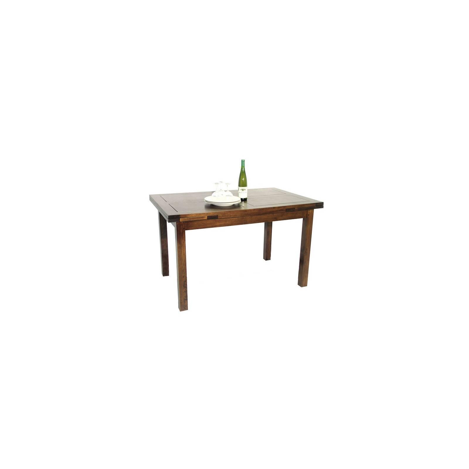 Table Rallonges Country Hévéa - meuble bois massif