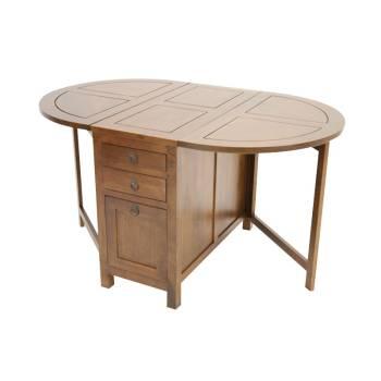 Table Modulable Tradition Hévéa - meuble style classique
