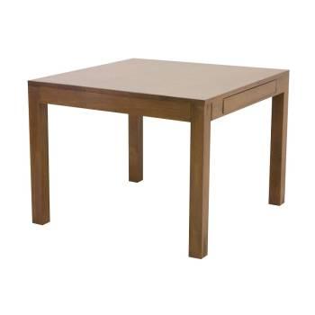 Table Repas Carrée Démontable Fjord Hévéa - meuble déco