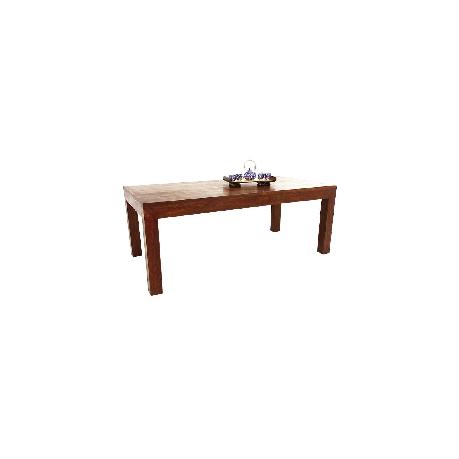 Table Repas Palissandre Zen - meuble en bois massif
