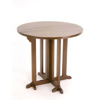 Table Ronde Hévéa - meuble style classique
