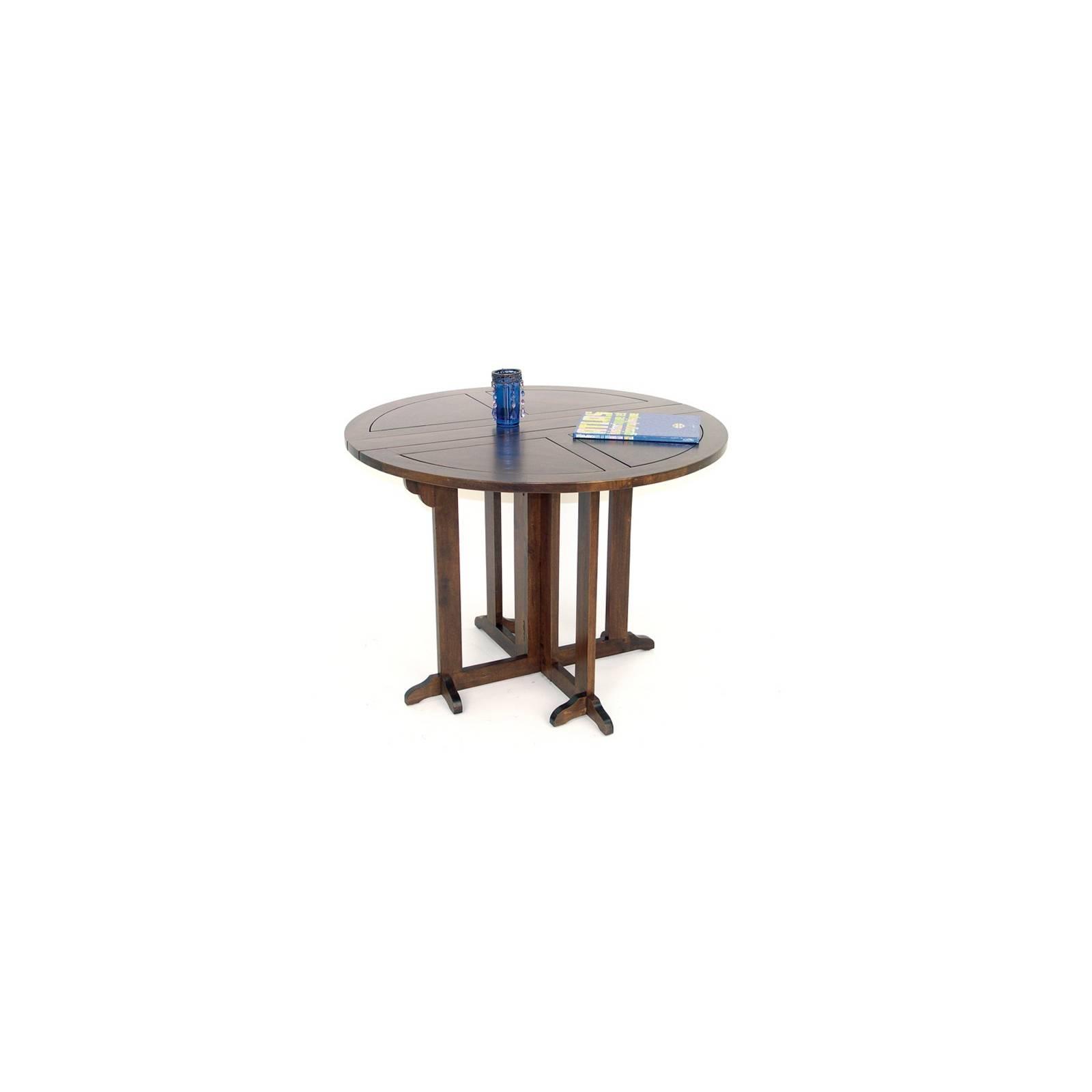 Table Ronde Omega Hévéa - meuble style design