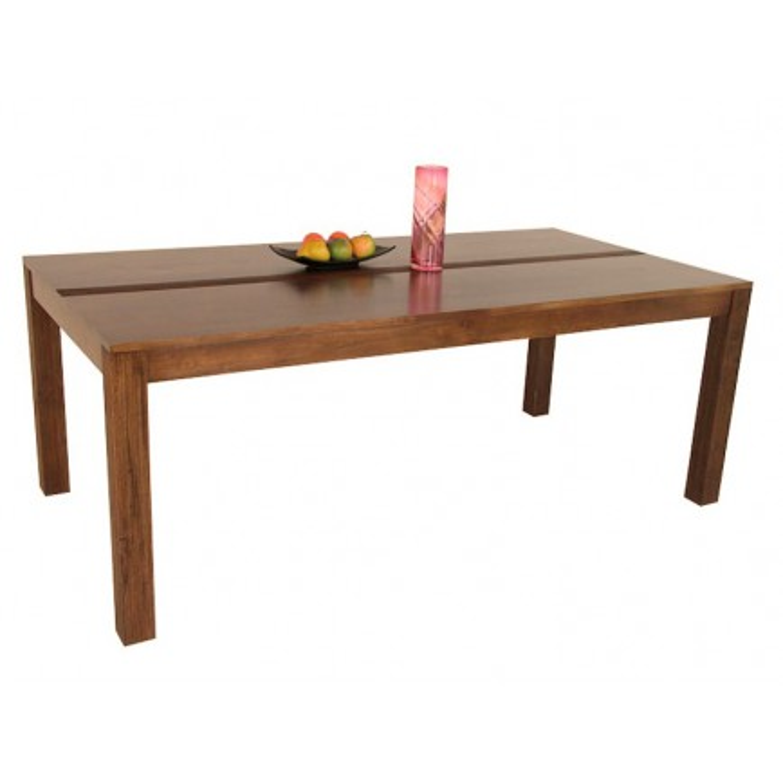 Table Séjour Striée Siguiri Hévéa - meuble colonial