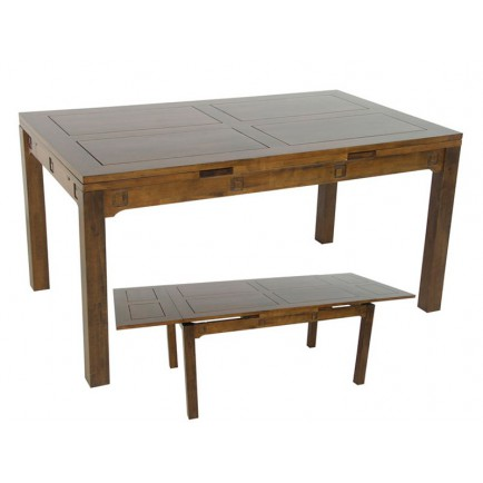 Table Séjour Tanoa Hévéa - mobilier bois massif