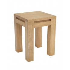 Tabouret en teck recycl mobilier origine au style colonial for Meuble donner montreal