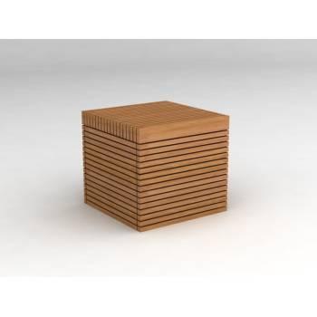 Tabouret Vicio Teck - meuble de jardin