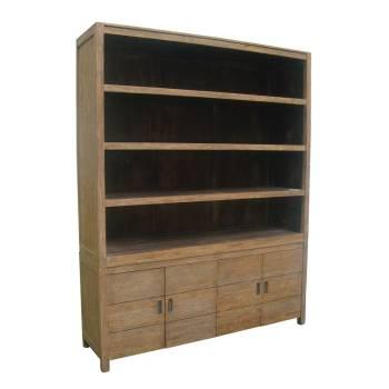 Vaisselier Felix Teck Recyclé - meuble bois massif
