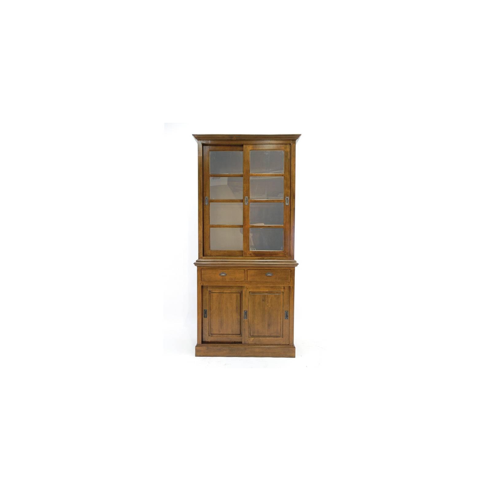 Vitrine Belle Epoque Hévéa - meuble style classique