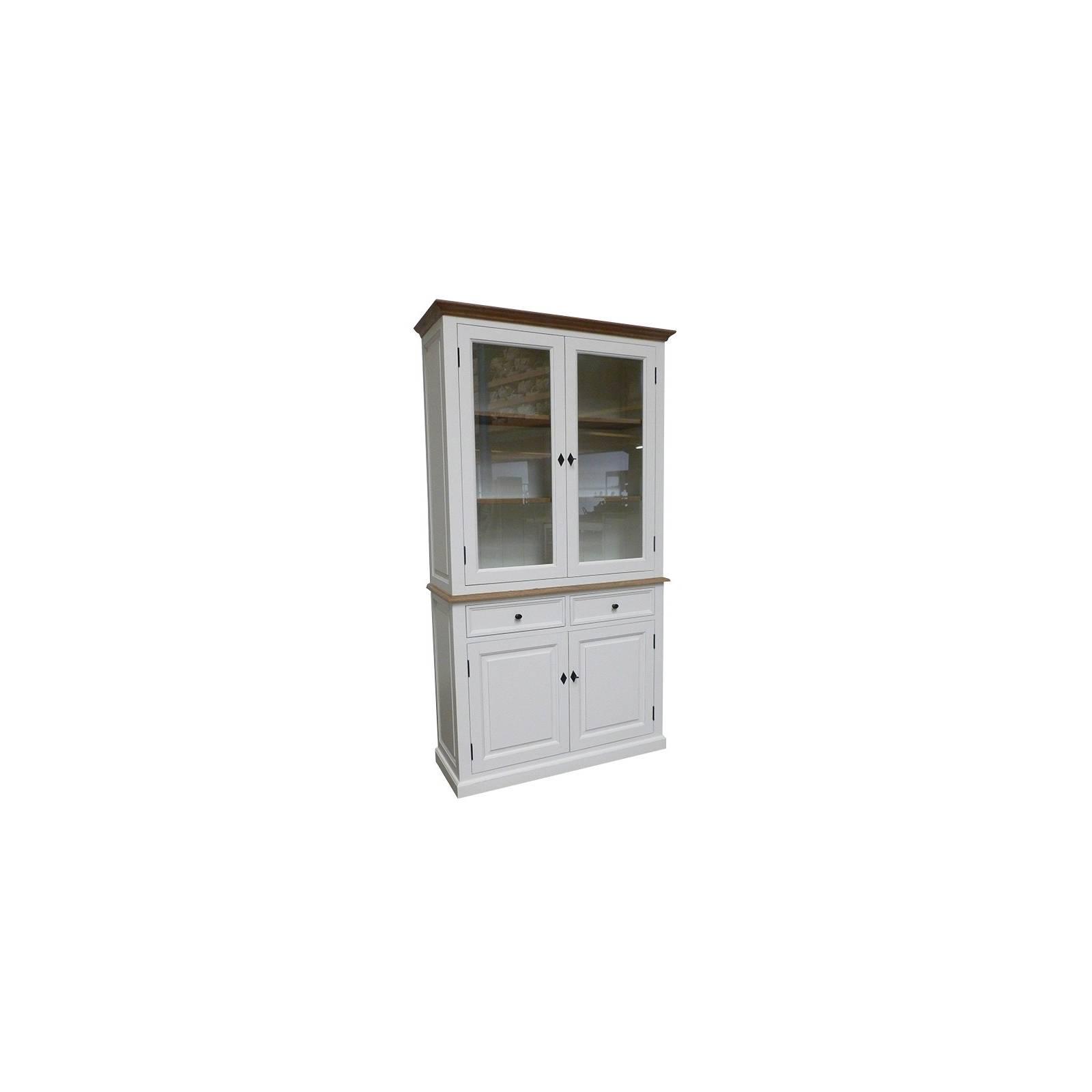 Buffet vaisselier Pin Camille - achat meuble au style classique