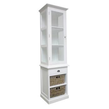 Vitrine Pin Camille - achat meuble au style classique