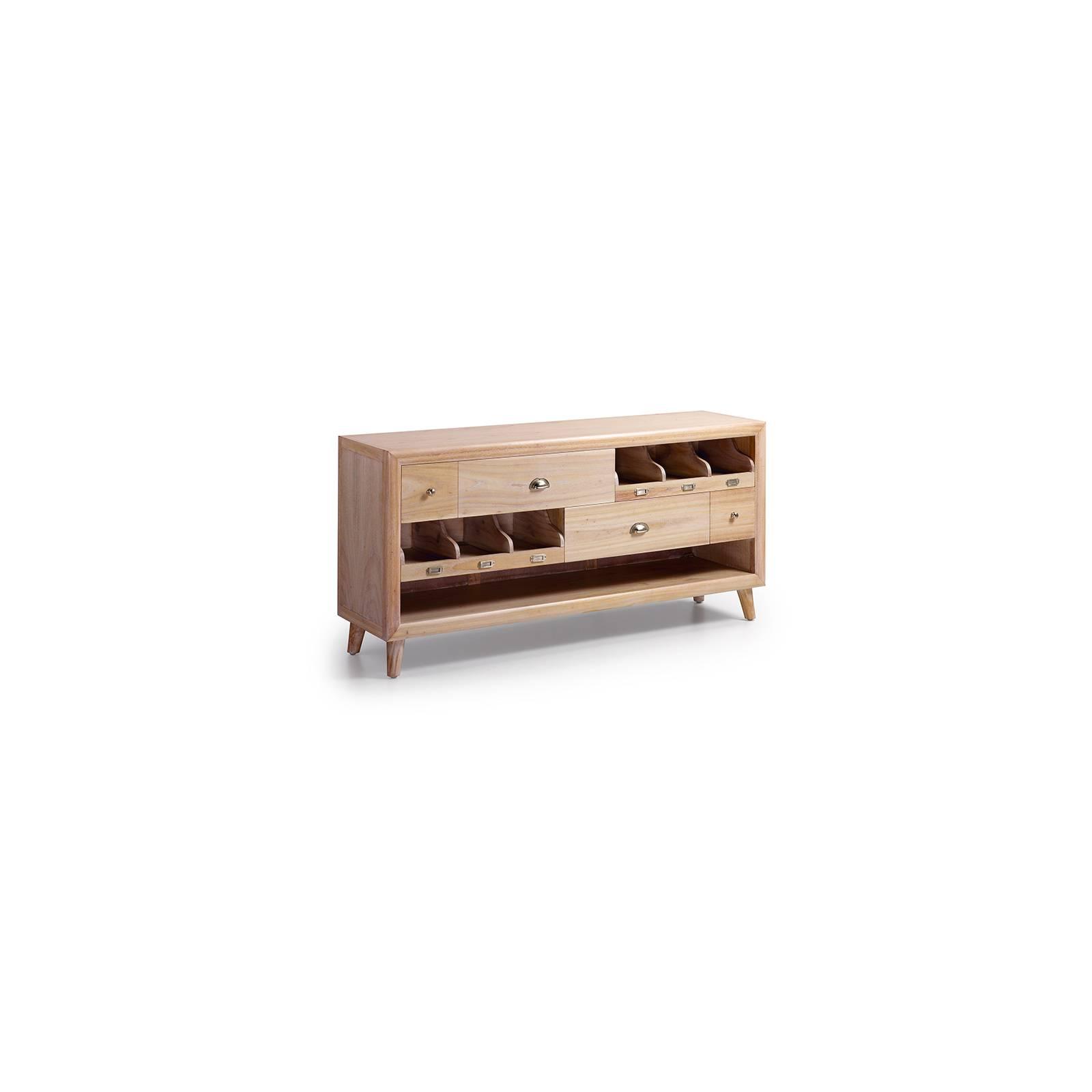 Meuble Tv Medium Oslo Mindy - meuble bois massif