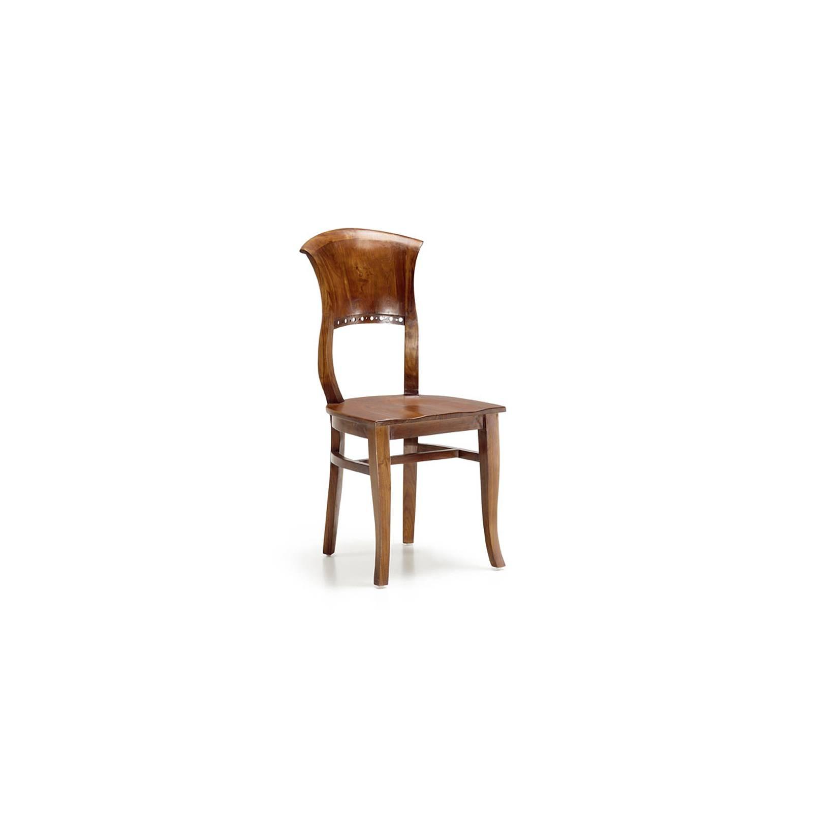 Chaise Coloniale Tali Mindy - meuble bois exotique