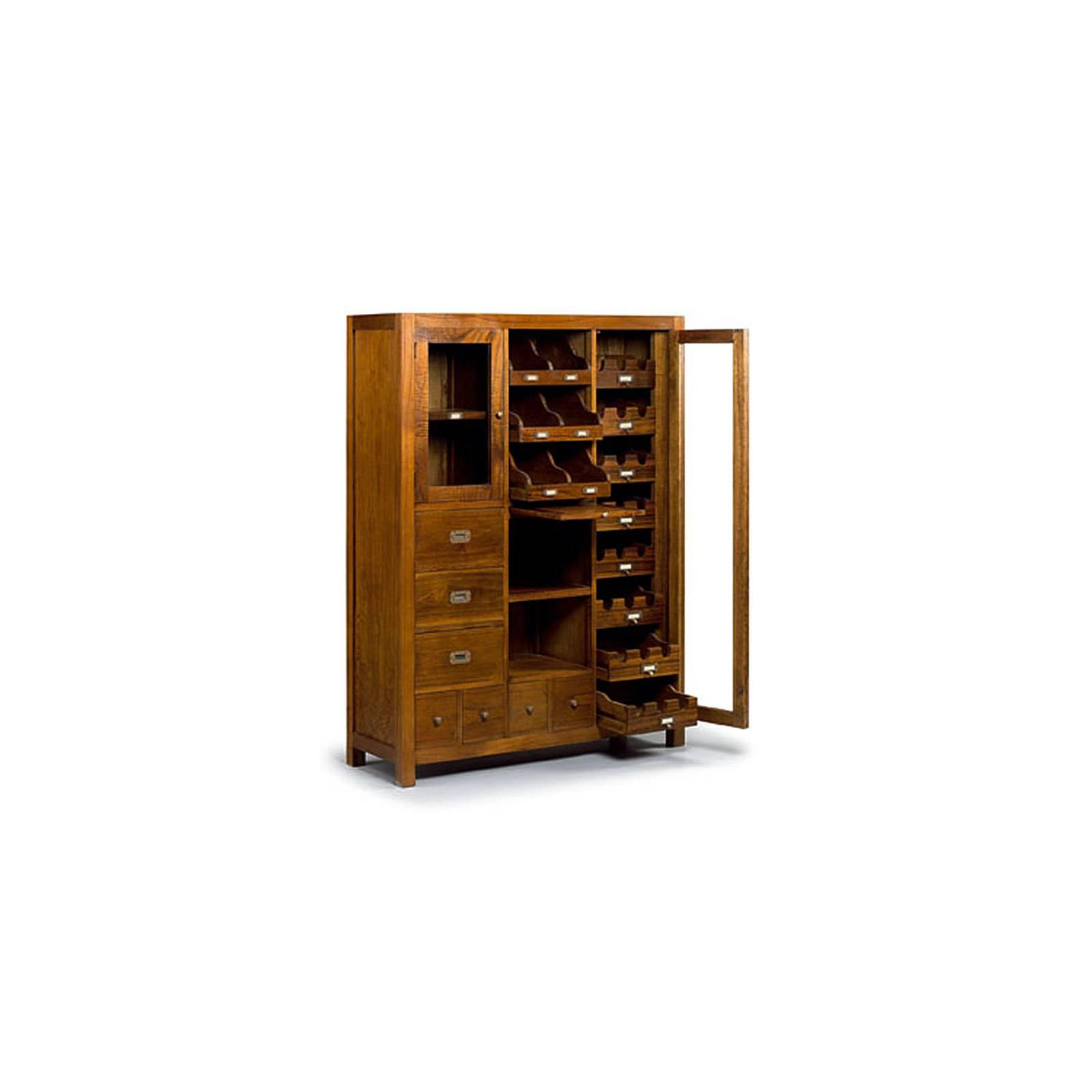 Armoire À Vin Tali Mindy - meuble bois exotique