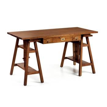 Bureau Règlable Tali Mindy - meuble bois exotique