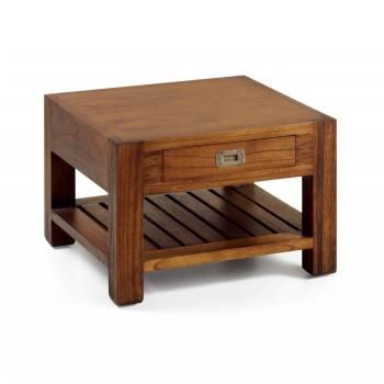 Bout De Canapé Tali Mindy - meuble bois exotique