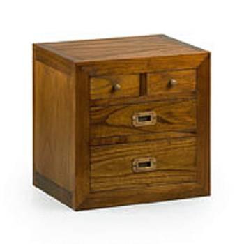 Élément Bibliothèque Tali Mindy - meuble bois exotique
