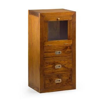 Élément Bibliothèque Haut Tali Mindy - meuble bois exotique