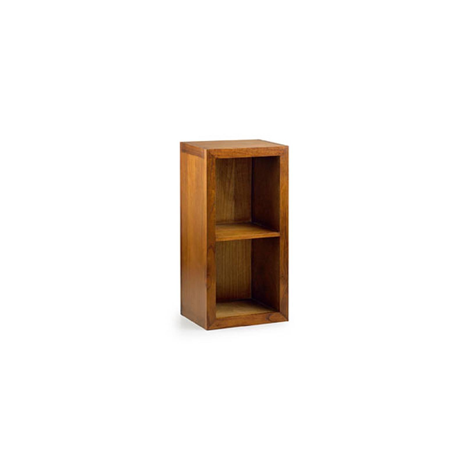 Élément Bibliothèque 2 Étagère Tali Mindy - meuble bois exotique