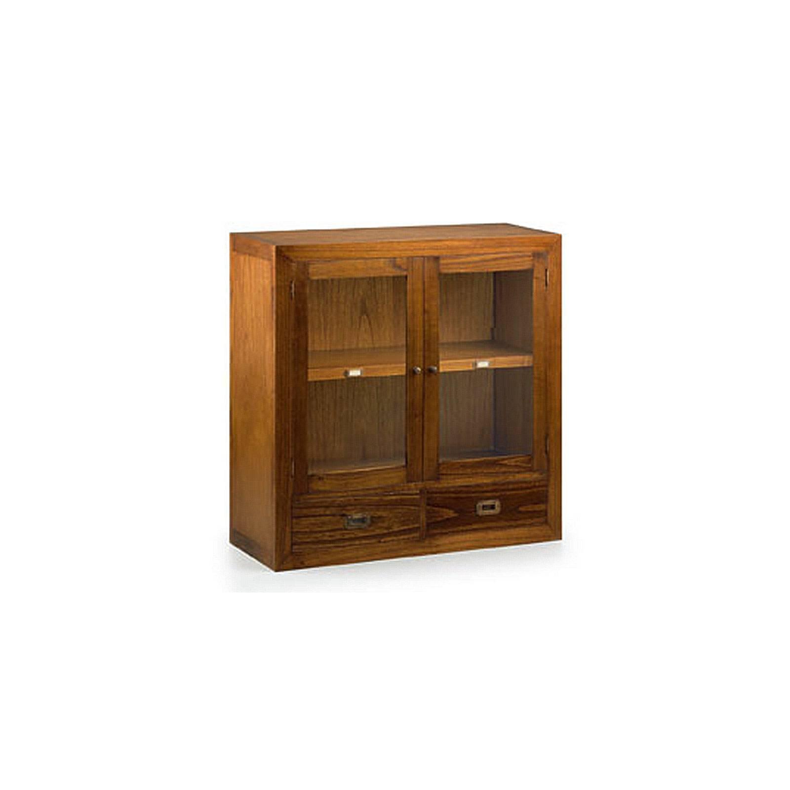 Élément Bibliothèque Vitré Tali Mindy - meuble bois exotique
