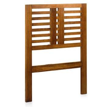 Tête De Lit Une Personne Tali Mindy - meuble bois exotique