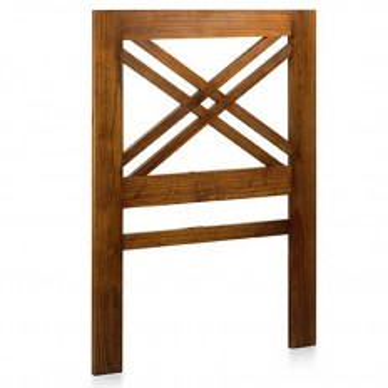 Tête De Lit Une Personne Croisillon Tali Mindy - meuble bois exotique