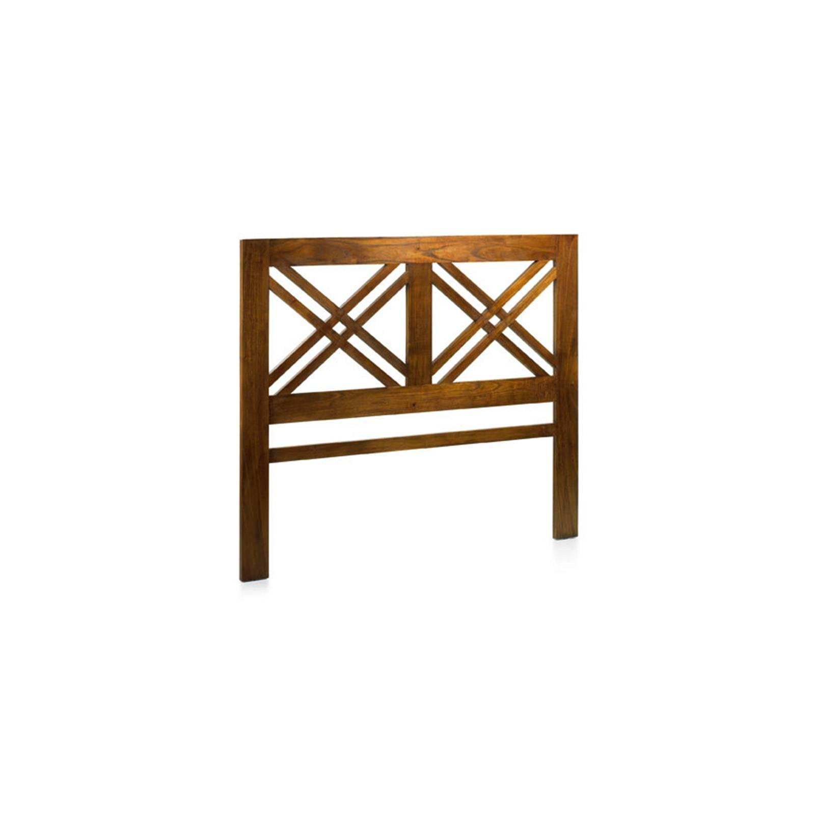 Tête De Lit Deux Personnes Croissillons Tali Mindy - meuble bois exotique