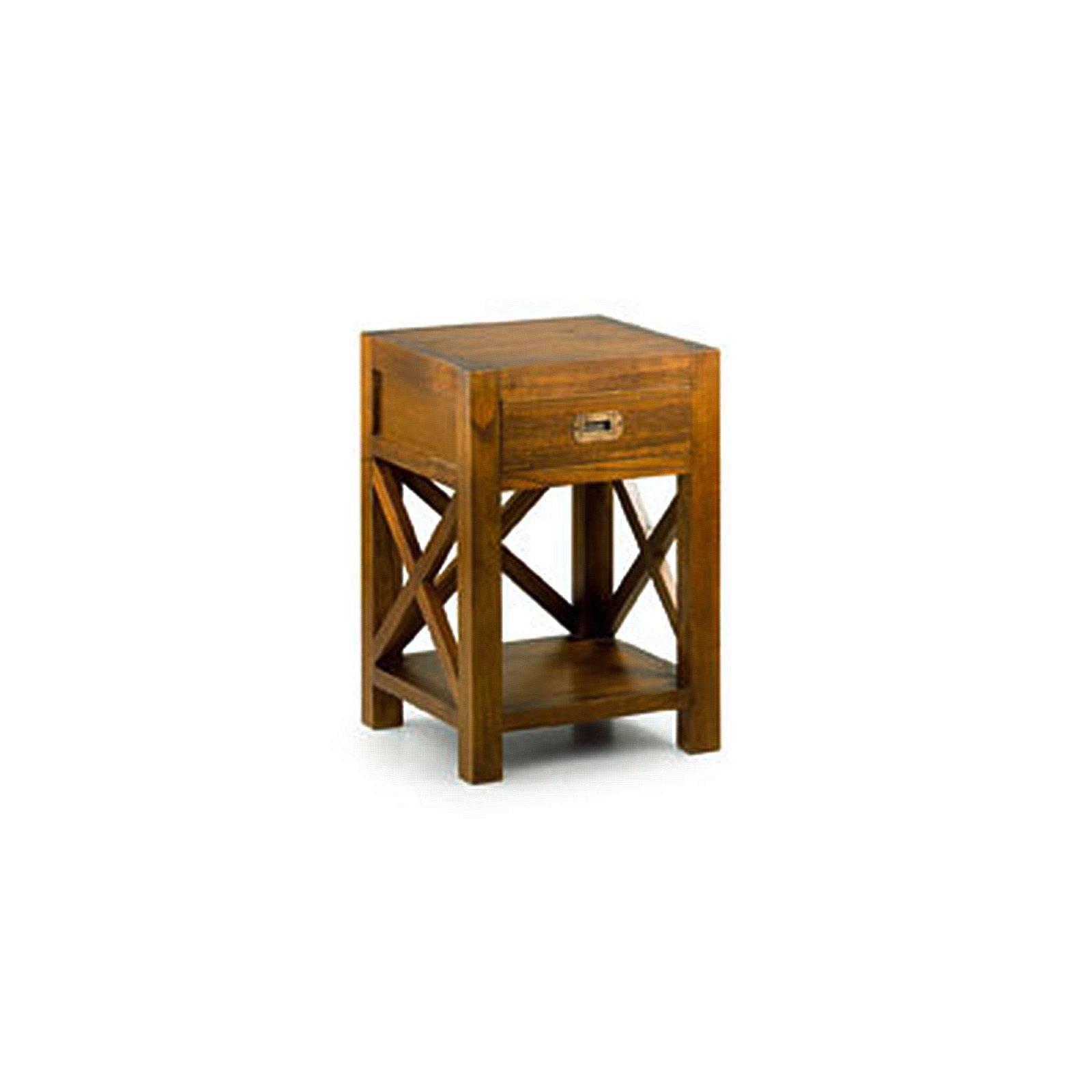 Chevet Croisillons Tali Mindy - meuble bois exotique