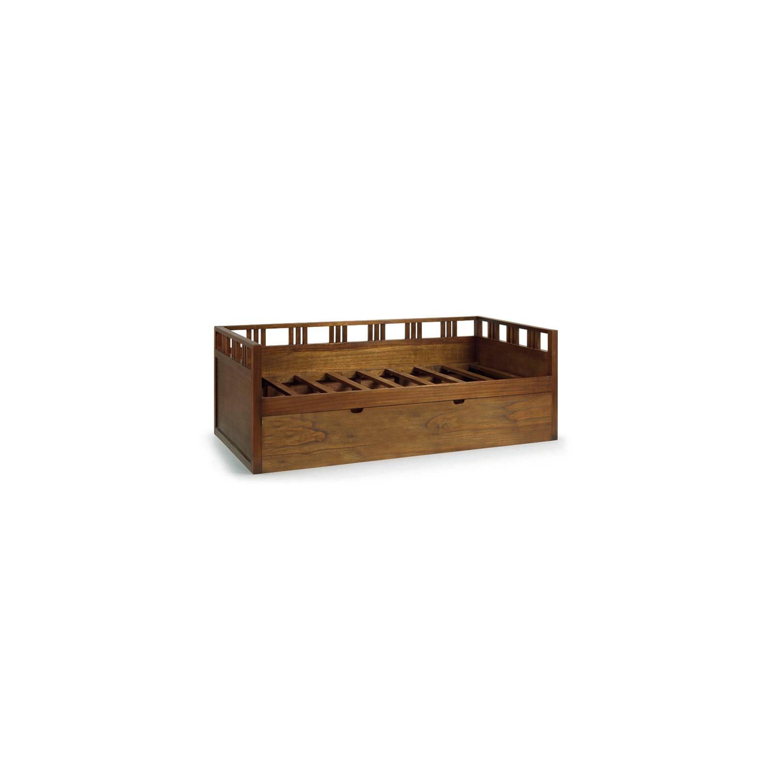 Lit Une Personne Gigogne Tali Mindy - meuble bois exotique