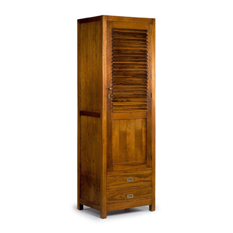 armoire penderie au style colonial tali meuble de rangement. Black Bedroom Furniture Sets. Home Design Ideas