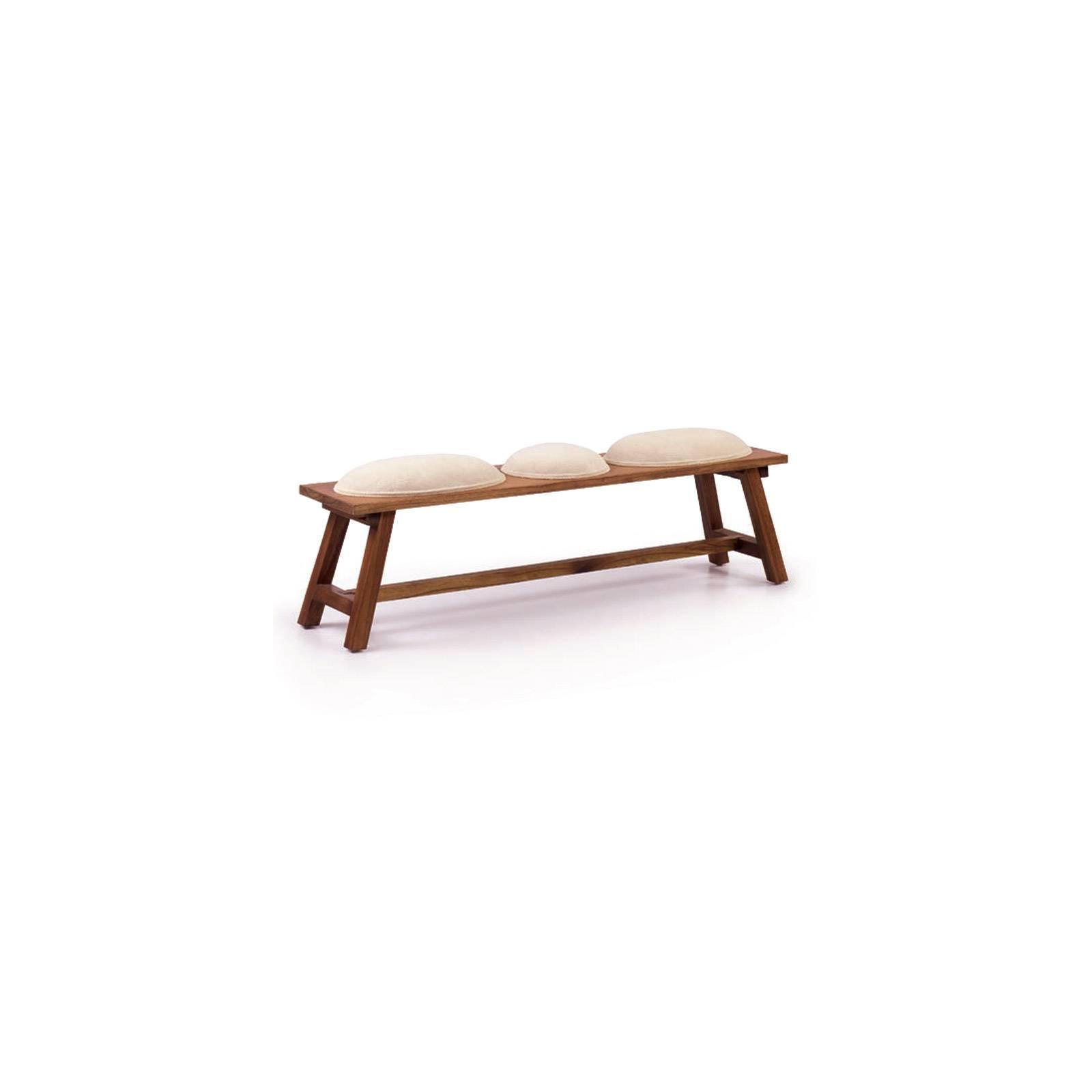 Banc Tali Mindy - meuble bois exotique
