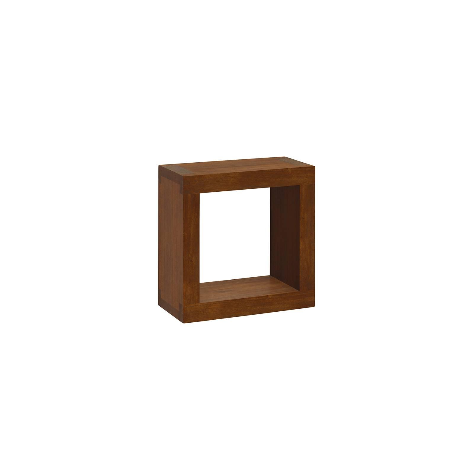Étagère Murale Cubique Tali Mindy - meuble bois exotique