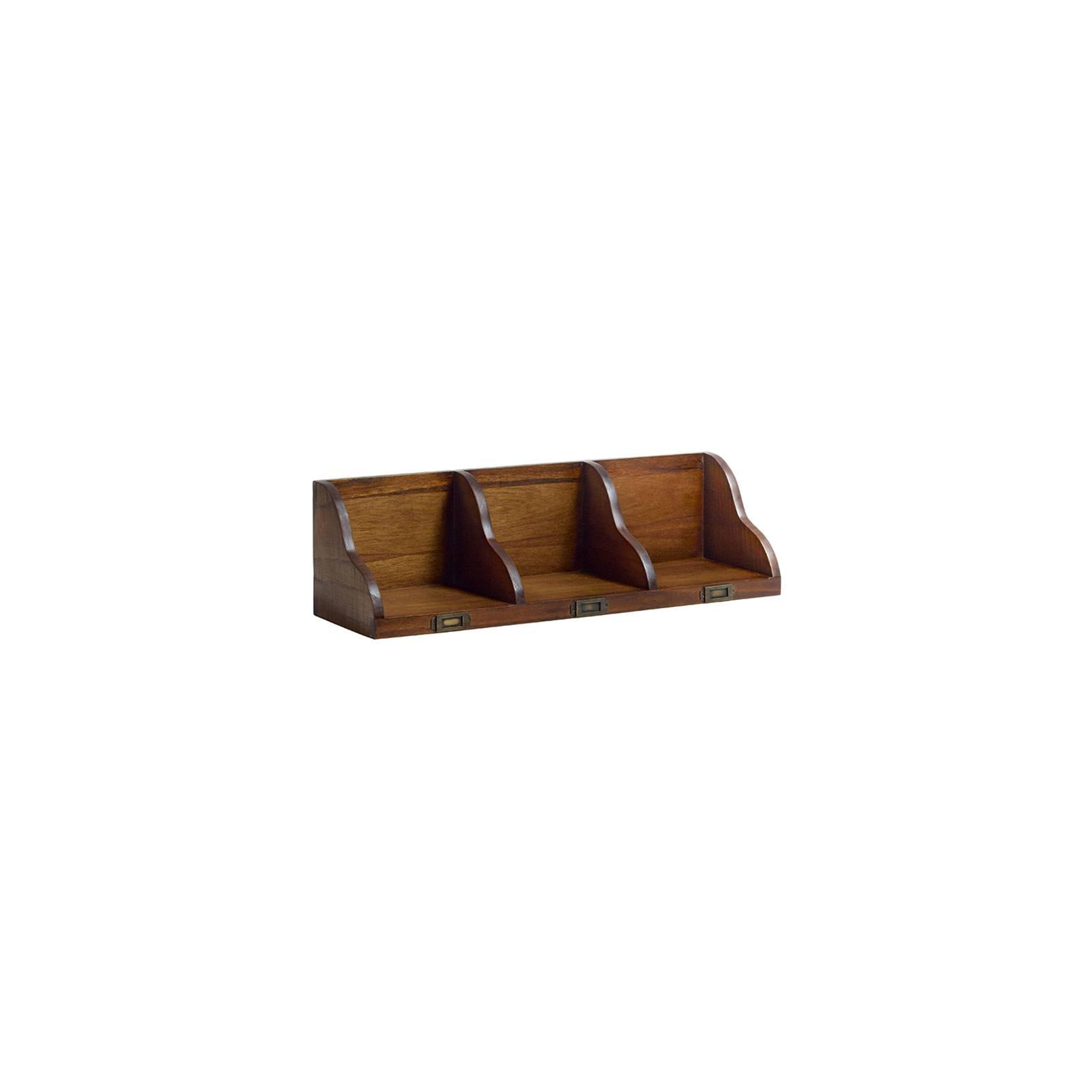 Étagère Murale Range CD DVD PM Tali Mindy - meuble bois exotique