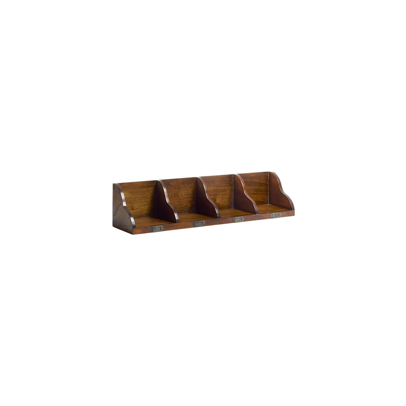 Étagère Murale Range CD GM Tali Mindy - meuble bois exotique
